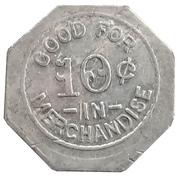 10 Cents - S. H. Jackson (Unionville, Missouri) – reverse