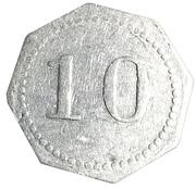 10 Cents - A R Anderson (Falun, Kansas) – reverse
