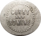 10 Cents - Curry and Romine – obverse