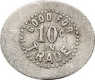10 Cents - Curry and Romine – reverse