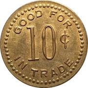 10 Cents - Sharp's (Eagle, Colorado) – reverse