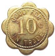 10 Cents - Ralph Haws (North Platte, Nebraska) – reverse