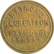 10 Cents - Raymond Recreation (Raymond, Kansas) – obverse