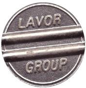 Car Wash Token - Lavor Group – obverse