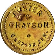 4 Cents - Foster & Grayson – obverse