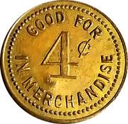 4 Cents - Foster & Grayson – reverse