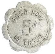 5 Cents - Foalk & Ellens – reverse