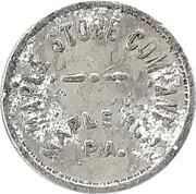 5 Cents - Maple Store Company (Maple Run, Pennsylvania) – obverse
