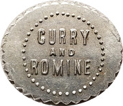 1 Cent - Curry and Romine – obverse