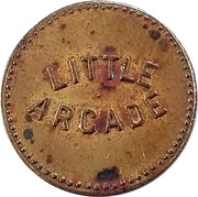 2 ½ Cent - Little Arcade – obverse