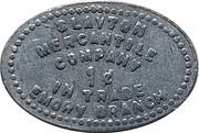 1 Cent - Slayton Mercantile Company (Emory, Montana) – reverse