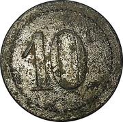 10 Centimes - Société d'Alimentation (Nogent-en-Bassigny) – reverse