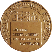 Token - Bratislavské korunovačné dni (Deti) – reverse