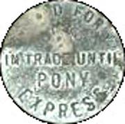 5 Cents - Pony Express (Kansas) – reverse