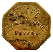 5 Cents - Huff's – obverse