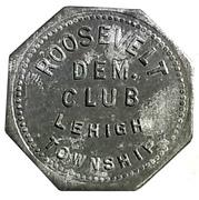 5 Cents - Roosevelt Dem. Club – obverse