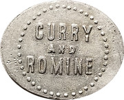 5 Cents - Curry and Romine – obverse