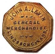 5 Cents - John A. Levin – obverse