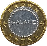 5 Cents - Brown Palace Hotel – obverse