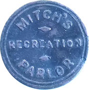 5 Cents - Mitch's Parlor – obverse