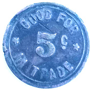 5 Cents - Mitch's Parlor – reverse
