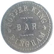 5 Cents - Copper King Bar (Bingham, Utah) – obverse