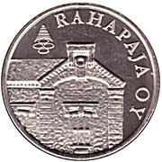 Token - Mint of Finland 2001 coin set – reverse