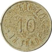 10 Cents - Sportland (Oakland, California) – reverse