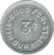 3 Cents - Farmington Dairy, Inc. – reverse