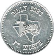 Token - Billy Bob's (Ft. Worth, Texas) – obverse