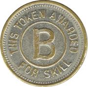 Token - Awarded for Skill B – obverse