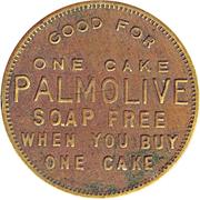 Token - Palmolive Free Soap Cake (Berkeley) – obverse