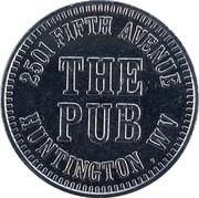Token - The Pub (Huntington, WV) – obverse