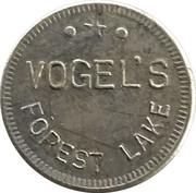 Token - Vogel's (Forest Lake) – obverse