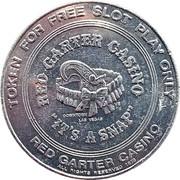 1 Dollar - Red Garter Casino (Las Vegas, Nevada) – obverse