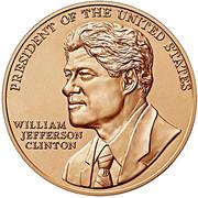 William J. Clinton (First Term) Bronze Medal – obverse