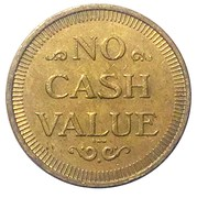 25 Cents (No Cash Value) – obverse