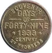 5 Mex - Souvenir Days of Forty Nine – obverse