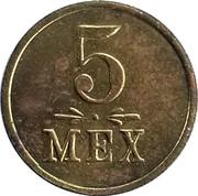 5 Mex - Souvenir Days of Forty Nine – reverse