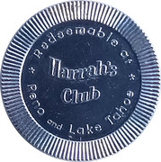 1 Drink - Harrah's Club (Reno and Lake Tahoe, Nevada) – obverse