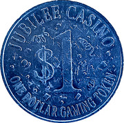1 Dollar - Jubilee Casino (Cripple Creek,  Colorado) – reverse