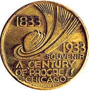 Token - Century of Progress (Chicago) – obverse
