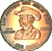 1 Dollar - 23rd Annual Rex Allen days (Willcox; Arizona) – obverse
