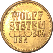 Token - Wolff Systems SCA USA – obverse