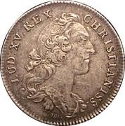 Token - Louis XV (Trésor royal; SIBI CREDITA REDDIT) – obverse