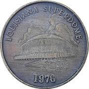 Token - Louisiana Superdome – obverse