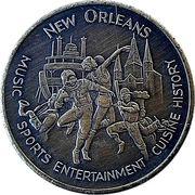 Token - Louisiana Superdome – reverse