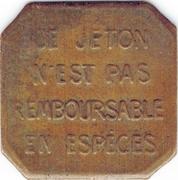 Bon Pour Un Trajet de 10 Centimes OTL Lyon 69 – obverse