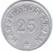 25 Öre - Marstrandsfärjan (Marstrand) – obverse