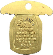 1 Quart - Donlands Dairy Ltd. (Toronto) – obverse